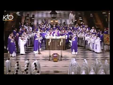 Messe d'Adieu du Père Pierre-Marie Delfieux