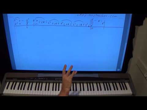 How To Play The Dream Of Olwen On The Piano