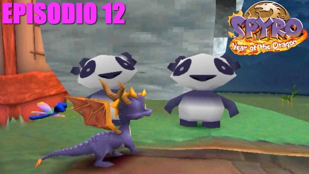 Spyro 3 Year Of The Dragon Episodio 12 Unos Osos Panda Con Bambú