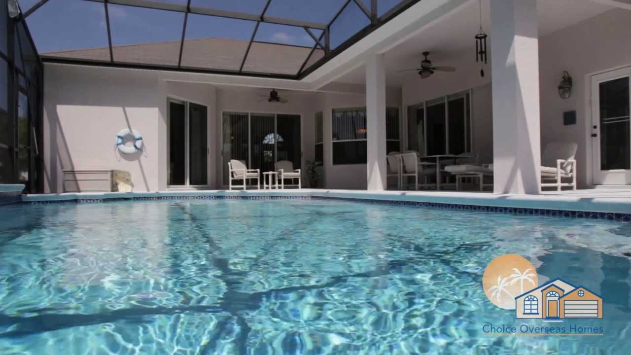 Grand reserve pool home houses for sale in florida youtube for Florida pool homes