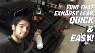 How To QUICKLY Find an Exhaust Leak