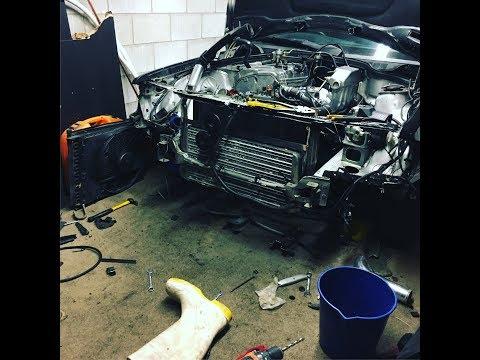 Mercedes 190e M111 manual install clutch aligning