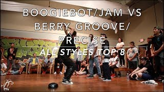 Boogiebot/Jam vs Berry Groove/Precise | All Styles Top 8 | The Gr818ers: #AFA7 | #SXSTV