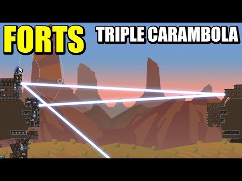 MAPA NUEVO & CAÑÓN VERTICAL - (Actualización) FORTS | Gameplay Español