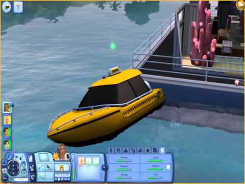 sims 3 how to become a mermaid without island paradise