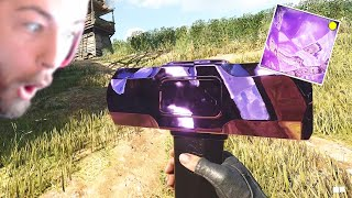 The DARK MATTER SLEDGEHAMMER is basically a giant piece of candy