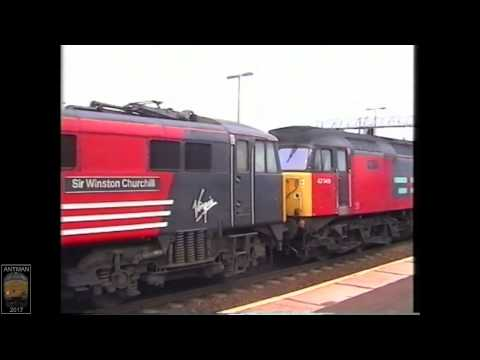 """""""Class 47s  in 2002 clagging at BIrmingham International"""" + other class's"""