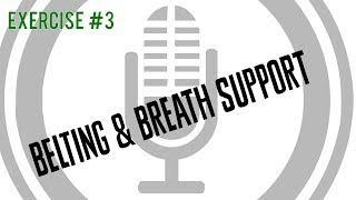 Belting & Breath Support [Exercise 3] | Free Voice Lessons with Cherish Tuttle.