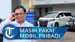 Alasan Prabowo Subianto Masih Pakai Mobil Pribadi dan Tak Mau Pakai Mobil Dinas, 'Untuk Penghematan'