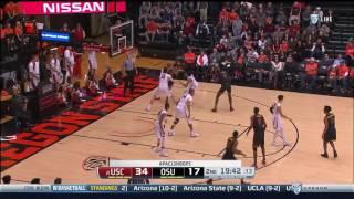 Men's Basketball: USC 70, Oregon State 63 - Highlights 12/28/16