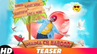 Teaser | Naina Ch Barood | Navjot Sidhu | Releasing On 27th Nov 2018 | Speed Records