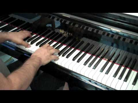 """Solo piano """"On Eagle's Wings"""""""