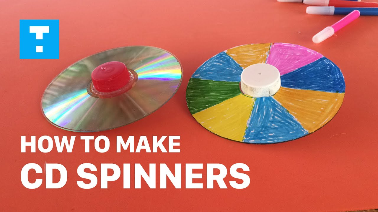 DIY How To Make Toys For Kids How To Make CD Spinners Diy