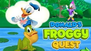donald s froggy quest game mickey mouse clubhouse full episodes games hd