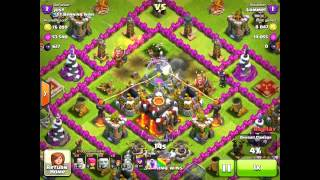 clash of clans town hall 10 trophy base with evidence