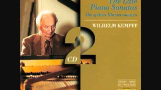 beethoven 28th piano sonata, op. 101 - 3rd movement - wilhelm kempff