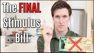The FINAL Stimulus Bill:  Stimulus Checks Dead? Senate Leader Confirms Only One More Stimulus Bill