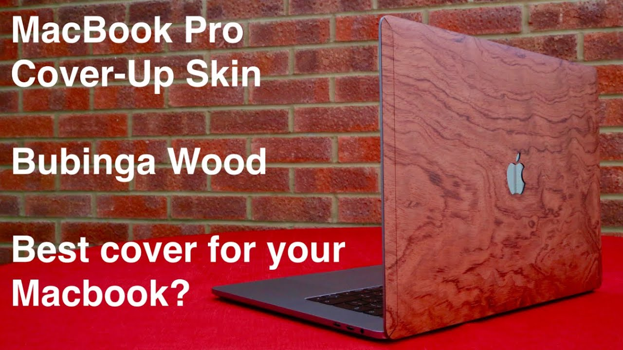 online retailer 8ed04 0b501 Cover-Up Wooden Skin for 2018 MacBook Pro 15 Inch