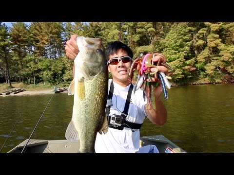 Tournament Bass Fishing... With my Subscriber's Lures?? (ft. LunkersTV)