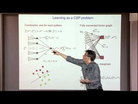 Learning by Local Entropy Maximization