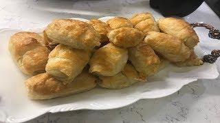 Milföy Zannedilen Çıtır Buzluk Böreği Tarifi/ Puf Puf Kabaran Sodalı Börek