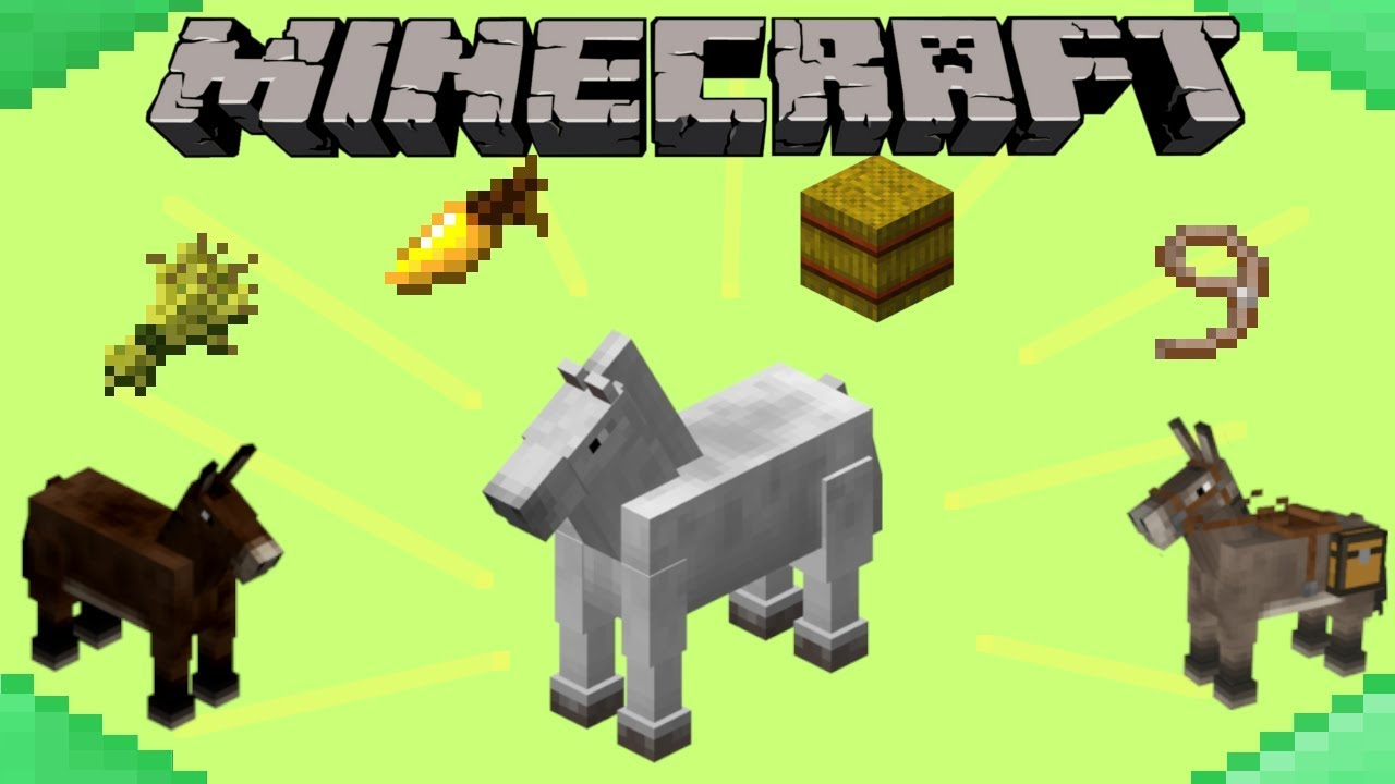 How to Tame & Breed Horses in Minecraft
