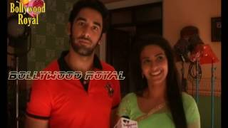 On Location Of TV Serial 'Ganga'  Love Sequence Between Sagar & Ganga Part  2