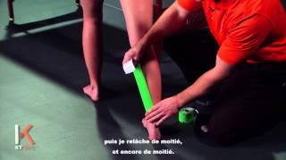 Douleur au mollet - KT TAPE France (Calf Pain)