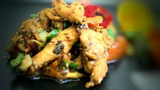 Chinese Style Chicken Cumin Stir Fry (Chinese Cooking Recipe)