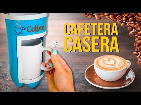 ☕️ ¡¡Cómo hacer una CAFETERA de GOTEO con BOTELLAS de plástico!! ☕️ * MANUALIDADES de RECICLAJE