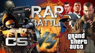 Рэп Баттл - Grand Theft Auto vs. Counter-Strike
