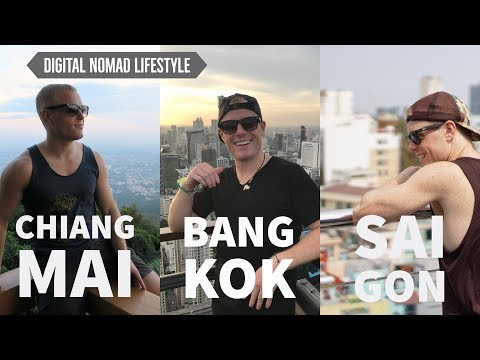 CHIANG MAI, BANGKOK or SAIGON? 🌴 My Digital Nomad Guide – Cost of Living, Nightlife, Coworking 2017
