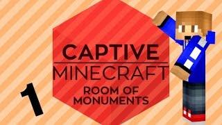 Captive Minecraft 2 Episode 1 - 1.8 Snapshot Map!