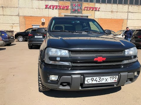 Chevrolet TrailBlazer - Когда ты не купил УАЗ за 500 тысяч рублей