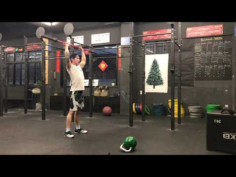 CrossFit Benchmark WOD: Filthy Fifty my score: 20:19