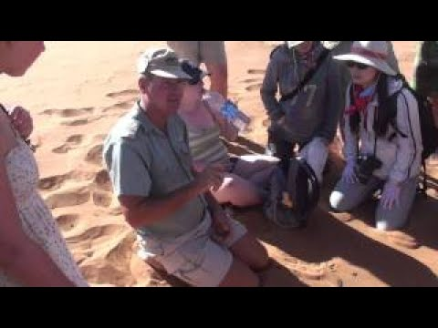 San Bushman Guide to Sossusvlei Namibia