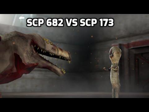 SCP-682 VS SCP-173