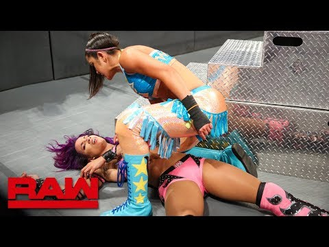 Bayley obliterates Sasha Banks: Raw, June 25, 2018