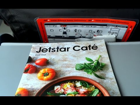 Jetstar Airbus A320 Flight Experience: JQ144 Christchurch to Sydney