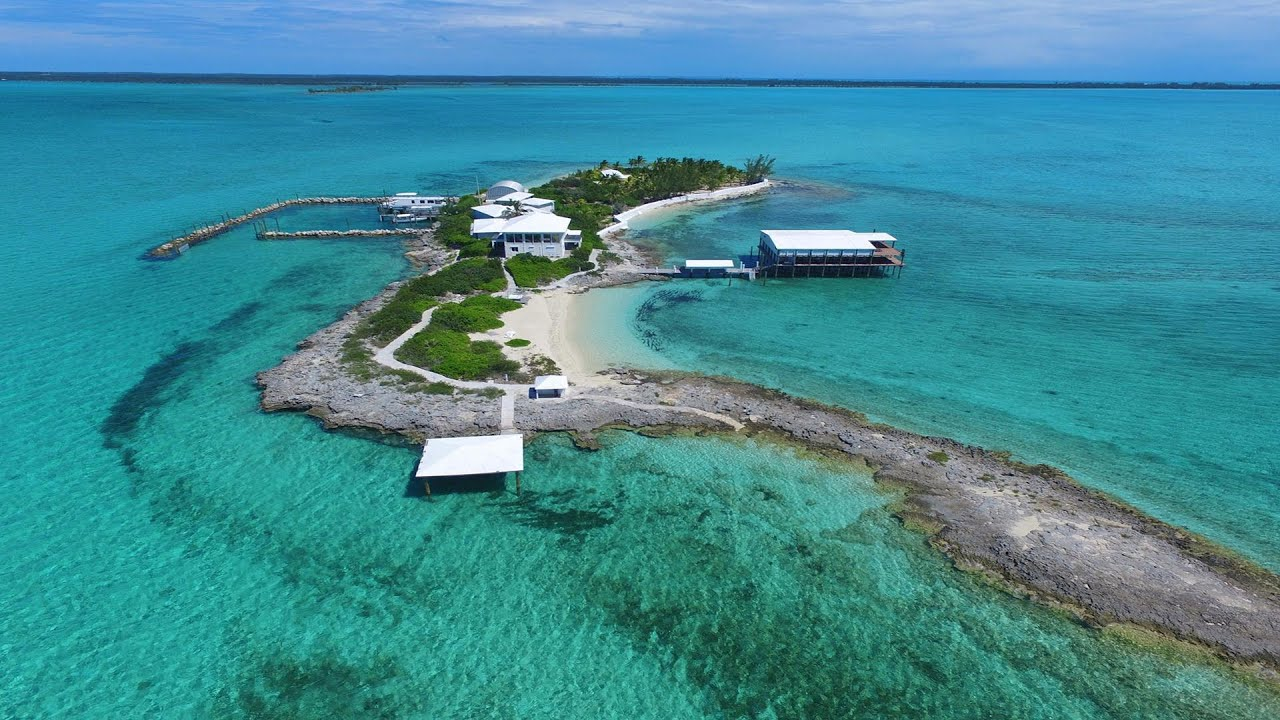 Lobster Cay - Bahamas Private Island for Sale - YouTube