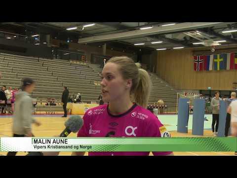 Vipers Kristiansand tok sine første poeng i Europacupen