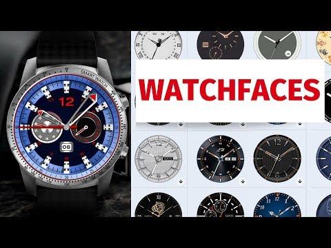 Циферблаты смарт часов KingWear Android Watch