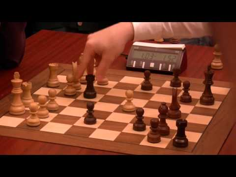 Fabiano Caruana vs Magnus Carlsen, World Blitz Chess Championship, Moscow, 16 Nov 2010