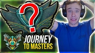 MY NEW SEASON 7 RANK IS.... - Journey To Masters #3 S7 - League of Legends