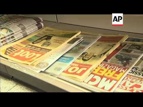 Murdoch in UK to face scandal; reax Brooks