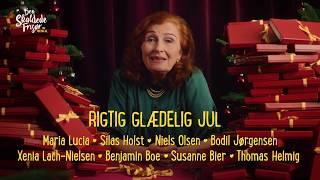 Bodil Jørgensen pakker alle julegaveæsker til Den Skaldede Frisør The Musical