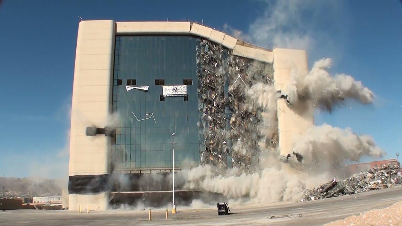 Building Demolition With Explosives : El paso city hall implosion controlled demolition inc