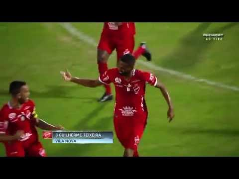 Bragantino 2 x 2 Vila Nova - Brasileirão Série B 2016