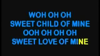 Guns And Roses   Sweet Child O  Mine KARAOKE VERSION) (Low)