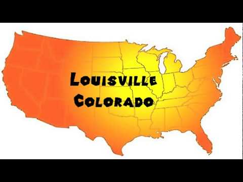 How to Say or Pronounce USA Cities — Louisville, Colorado